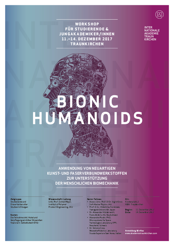 Workshop 2017: Bionic Humanoids